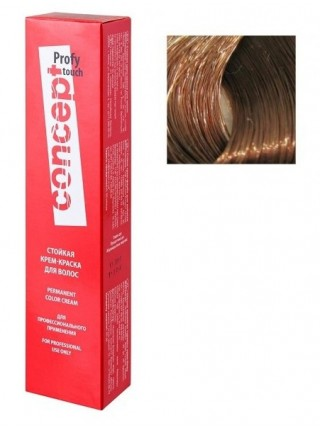 3.7 Cтойкая крем-краска для волос Сoncept, черный шоколад