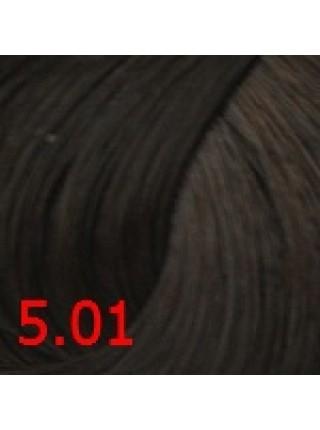 5.01 Cтойкая крем-краска для волос Сoncept, Темно-русый пепельный