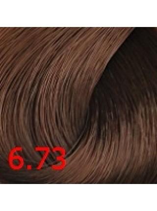 6.73 Cтойкая крем-краска для волос Сoncept, Русый коричнево-золотистый