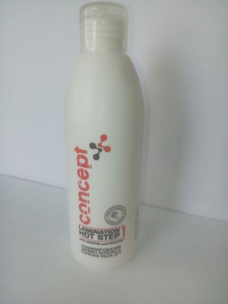 Ламинирование для волос, эффект ботокса - горячая фаза №1 / Botox Lamination Hot Step 1 200 мл