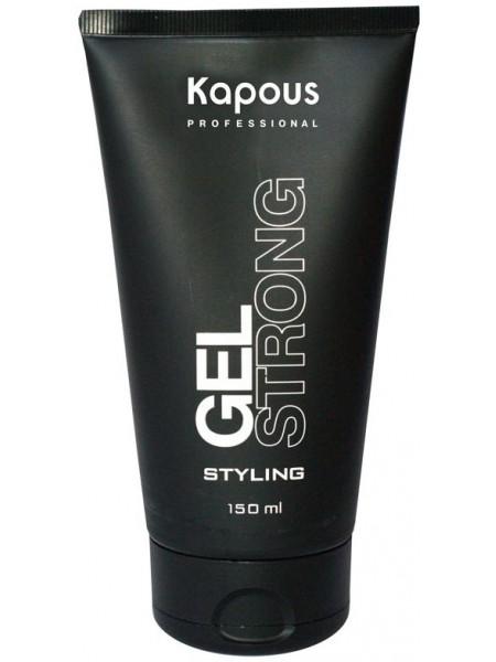 Kapous Гель для волос сильной фиксации Styling Gel Strong 150 мл