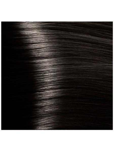 """HY 4.0 Коричневый Крем-краска для волос с Гиалуроновой кислотой серии """"Hyaluronic acid"""", 100мл"""