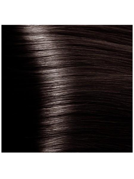 """HY 4.757 Коричневый пралине Крем-краска для волос с Гиалуроновой кислотой серии """"Hyaluronic acid"""", 100мл"""