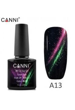 """Гель-лак Canni """"кошачий глаз 3D"""" A13"""