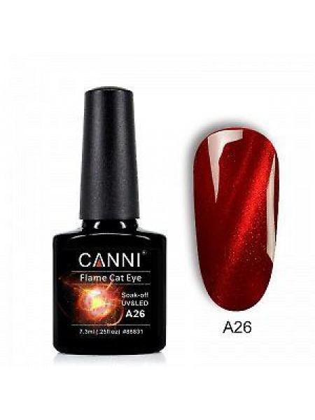 "Гель-лак Canni ""3D Flame кошачий глаз"" A26"