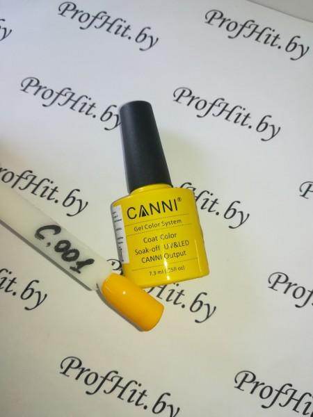Гель-лак Canni № 001