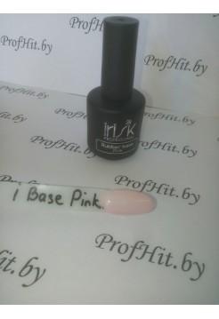 База каучуковая камуфлирующая Rubber Base Pink IRISK, 18 мл.
