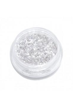 Слюда жидкая SZ-001 белая с серебристым отливом